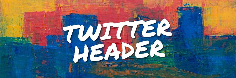 Create Original Twitter Headers Online And Free