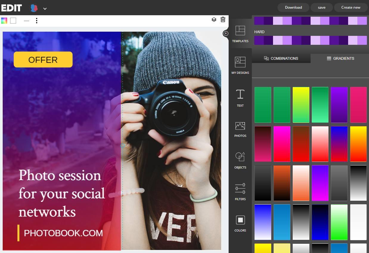 gradients online