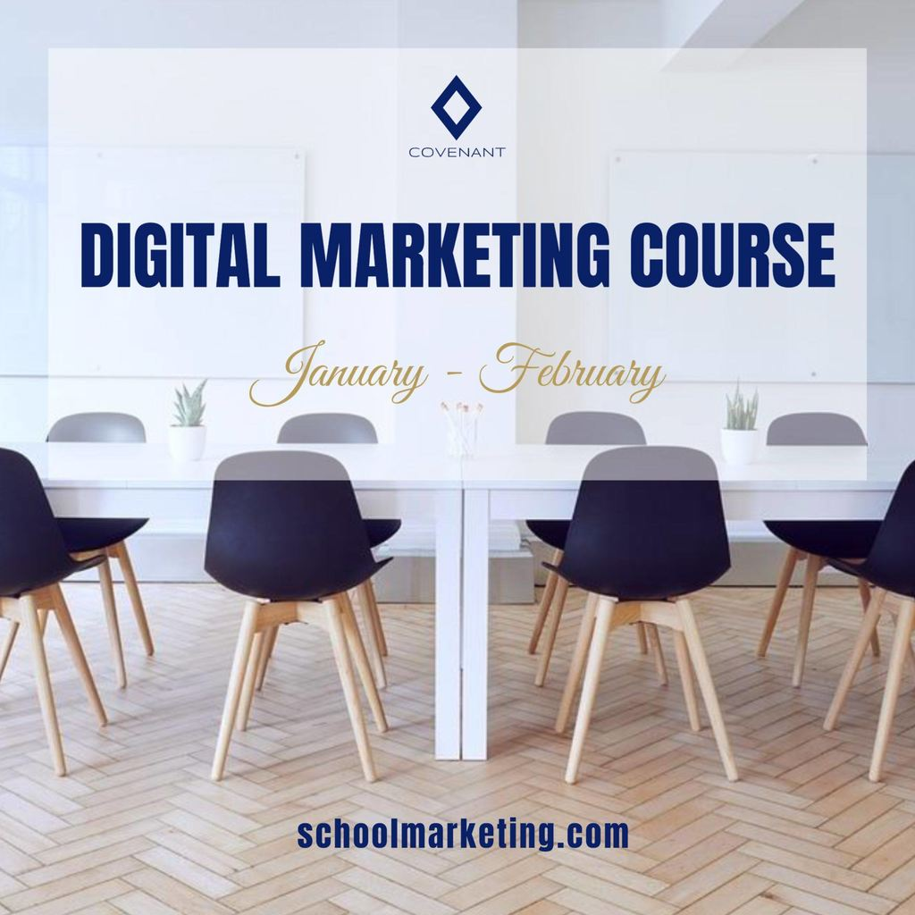 digital marketing course example template