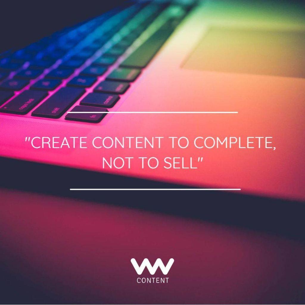 digital marketing create content template