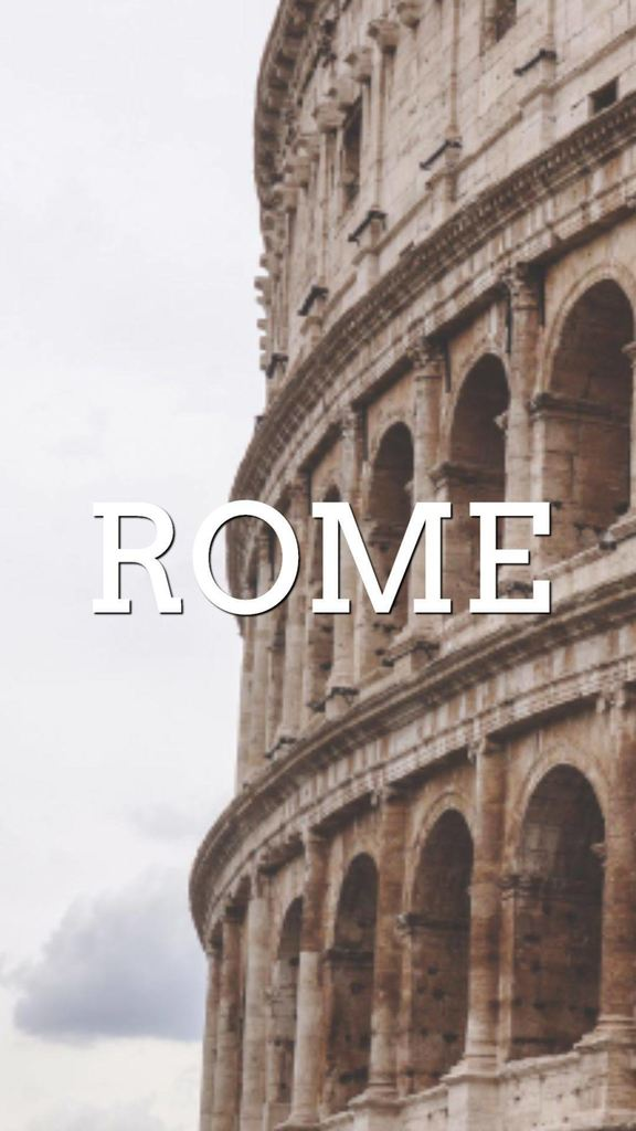 example instagram stories rome template