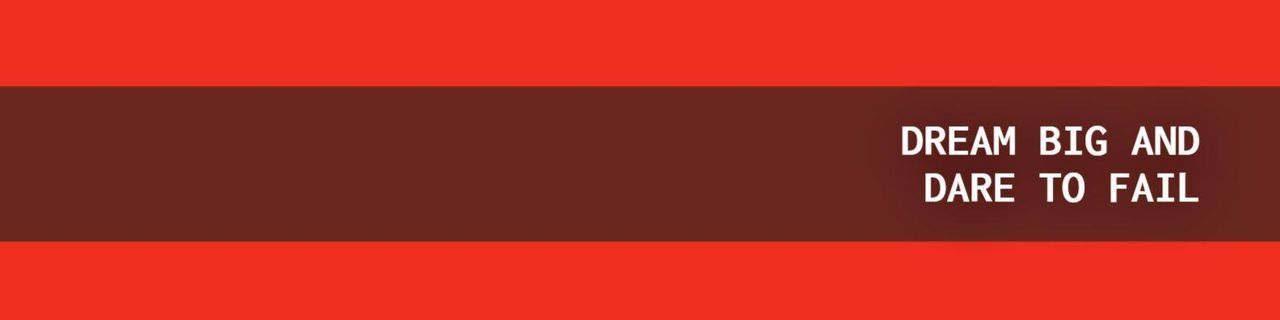 linkedin cover template red dream big