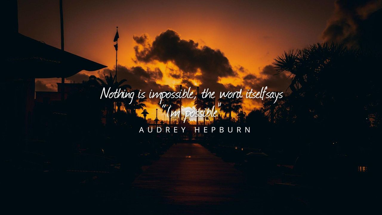 youtube channel art inspirational quote