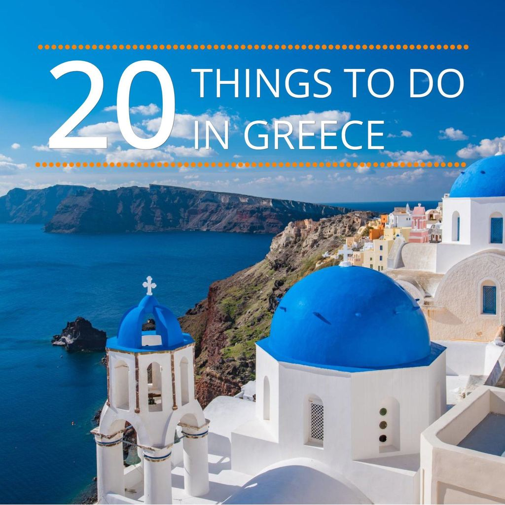 Facebook post 20 things to do in greece