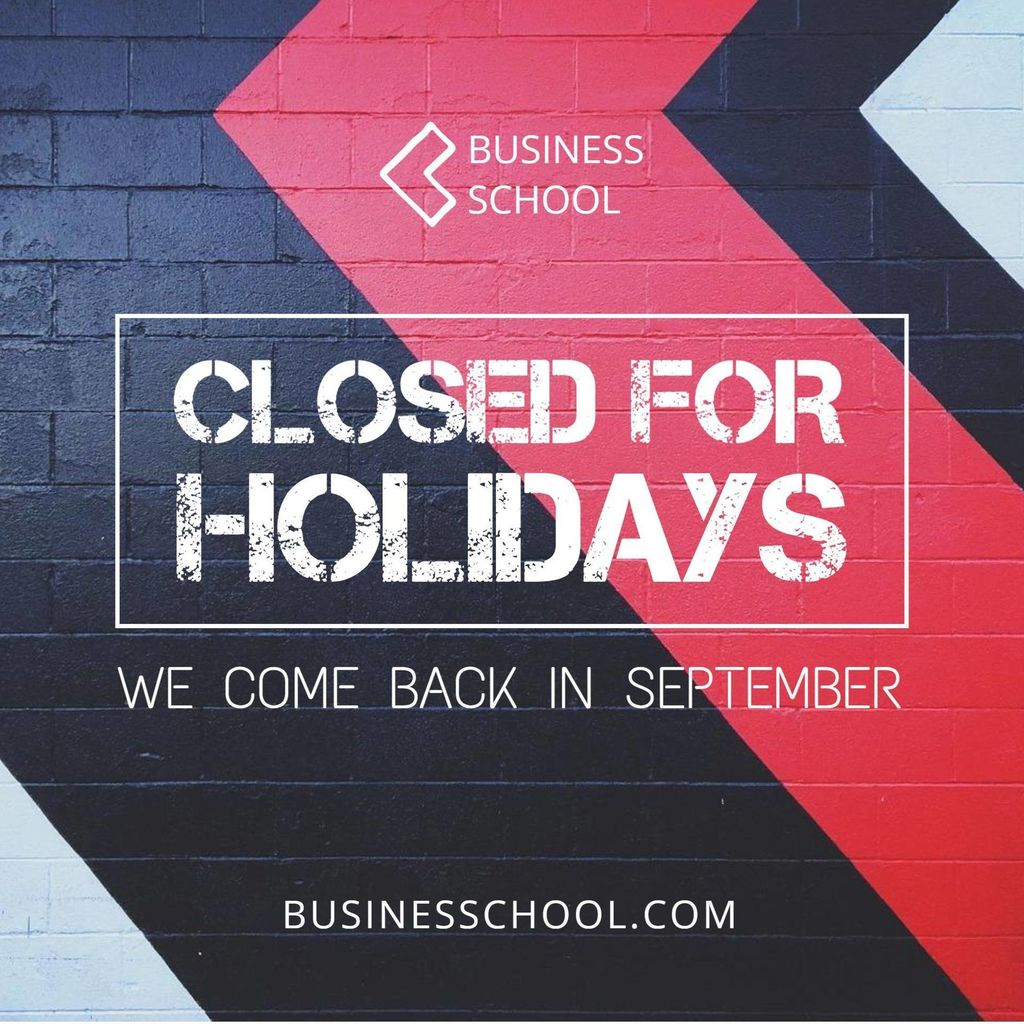 facebook post closed for holidays