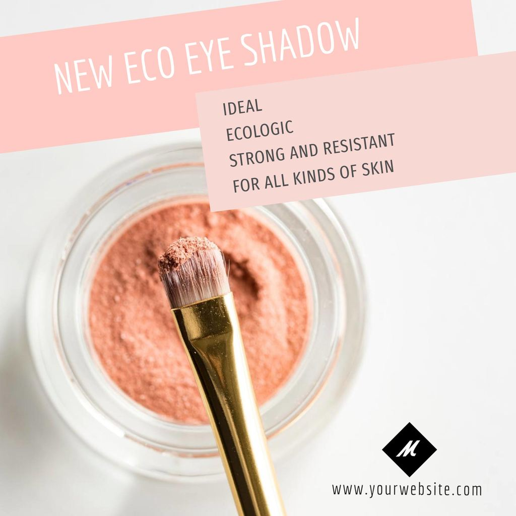 beauty product shadow