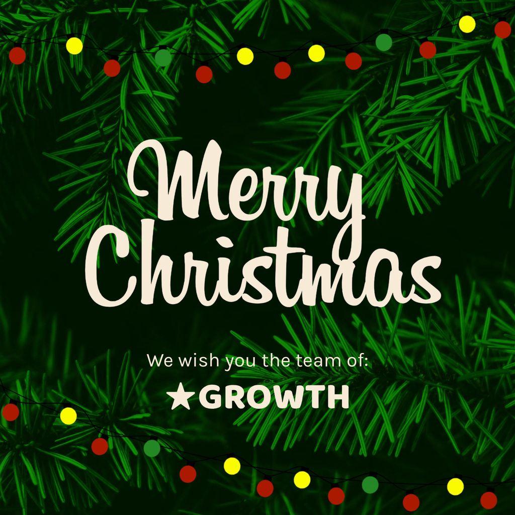 merry christmas green design