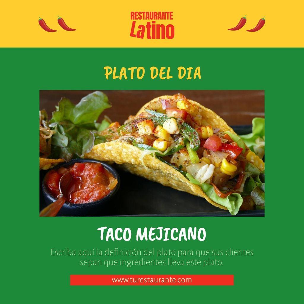 plato del dia latino