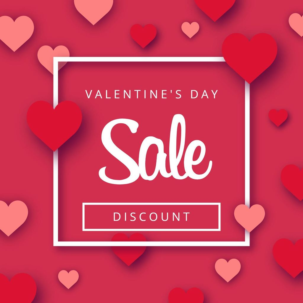 special sale valentines day