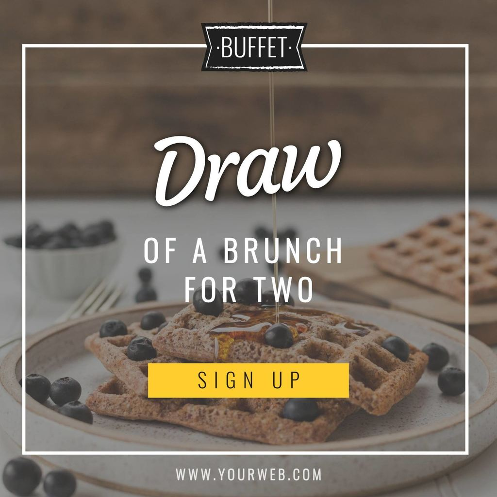 brunch drawn template