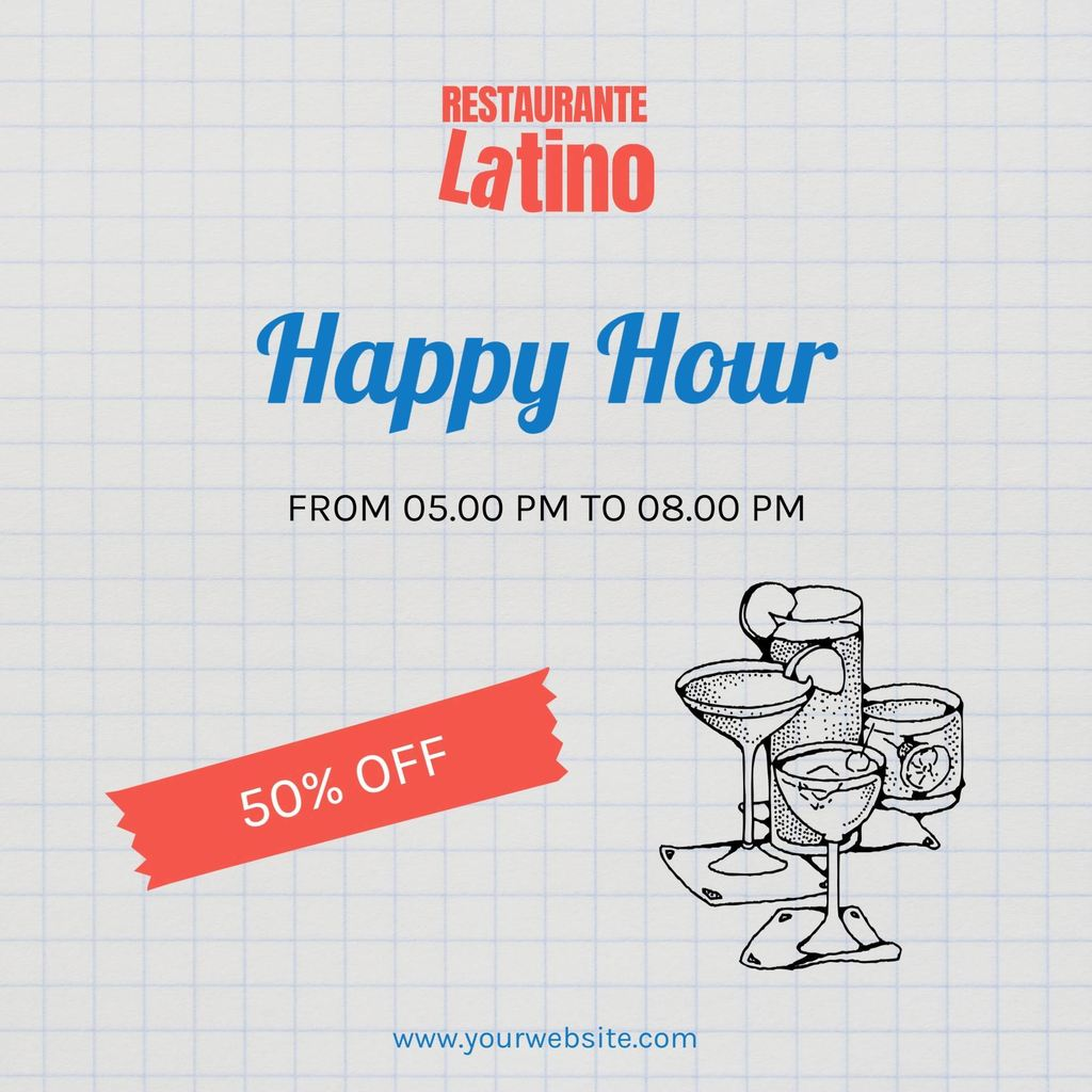 happy hour template