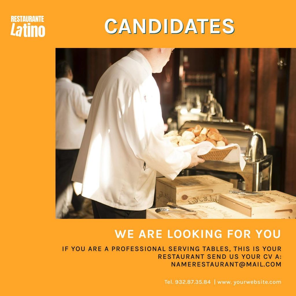 looking for candidates template