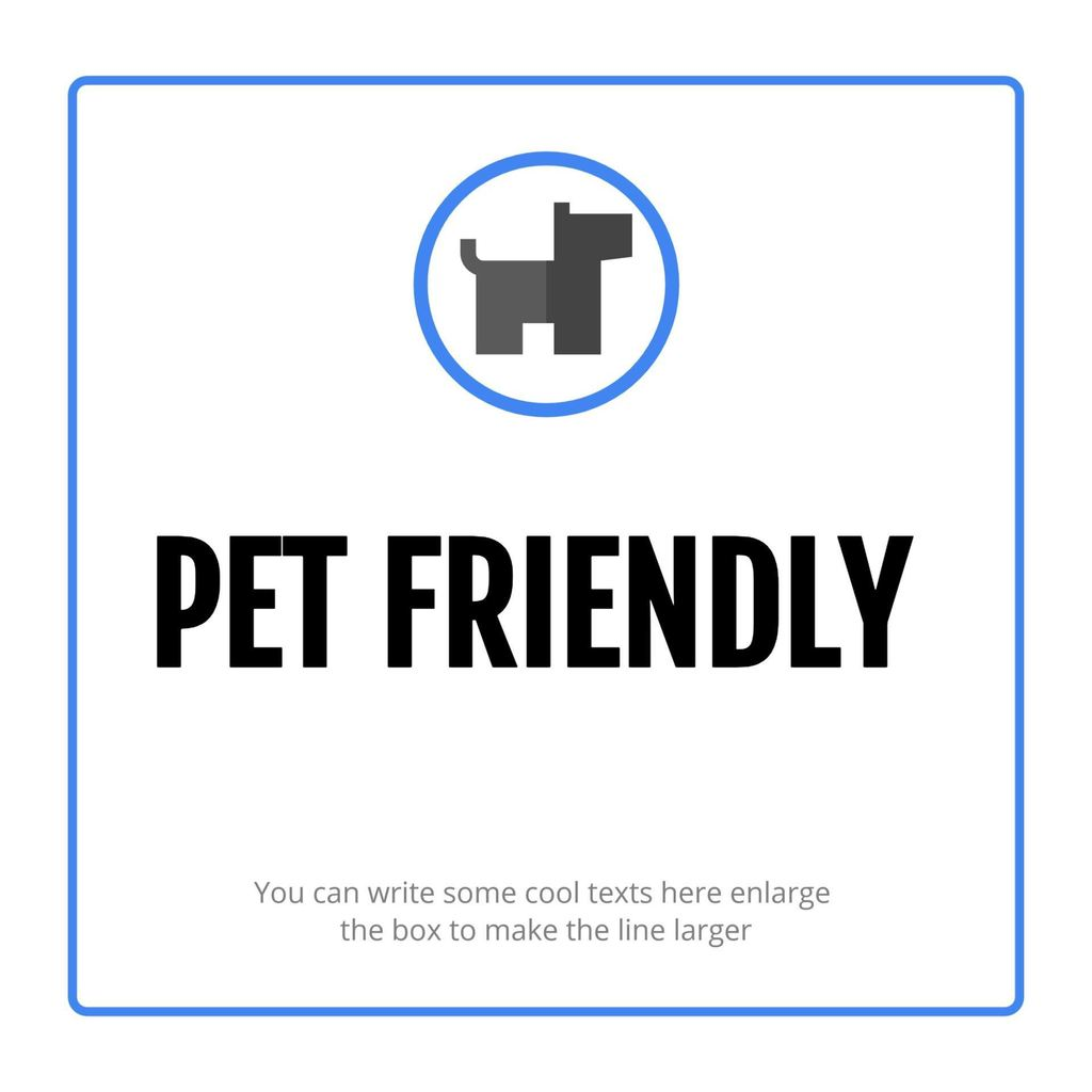 pet friendly template