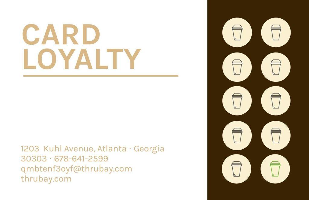 tarjeta fidelizacion cafe