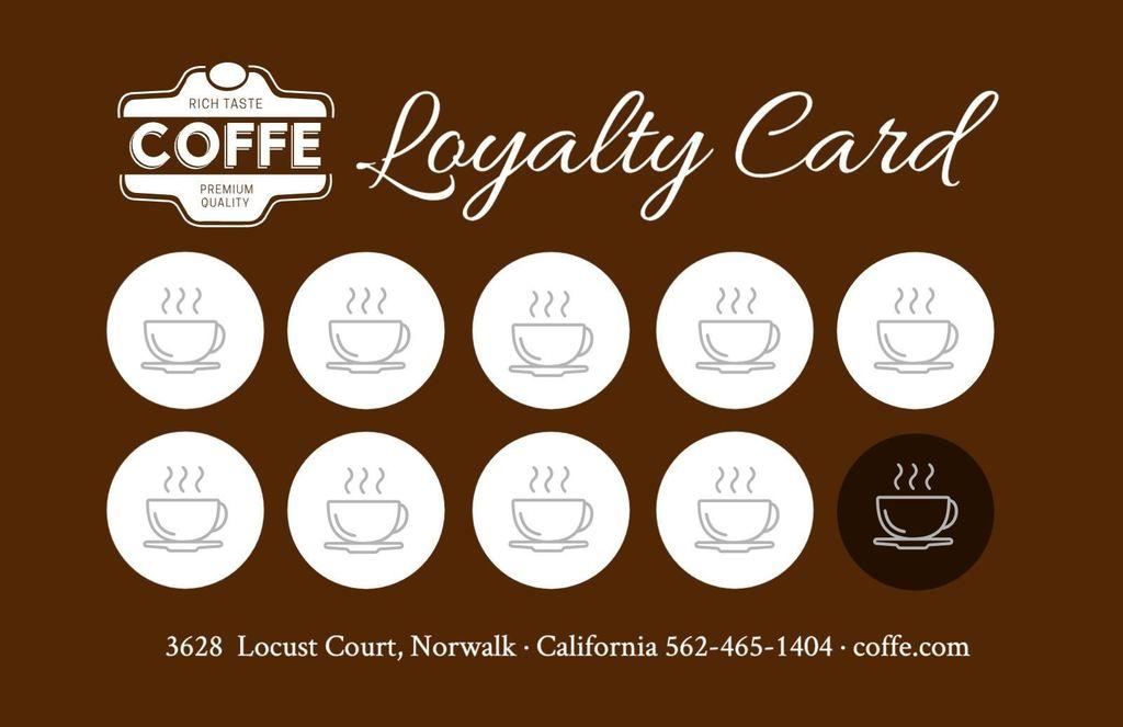 tarjeta fidelizacion cafe gratis