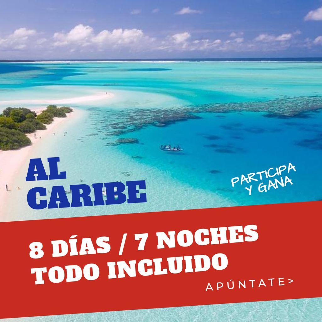 agencia viaje banner caribe