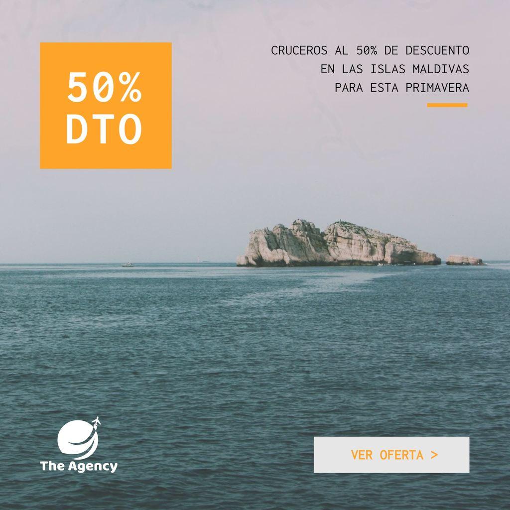 banner descuento agencia de viajes