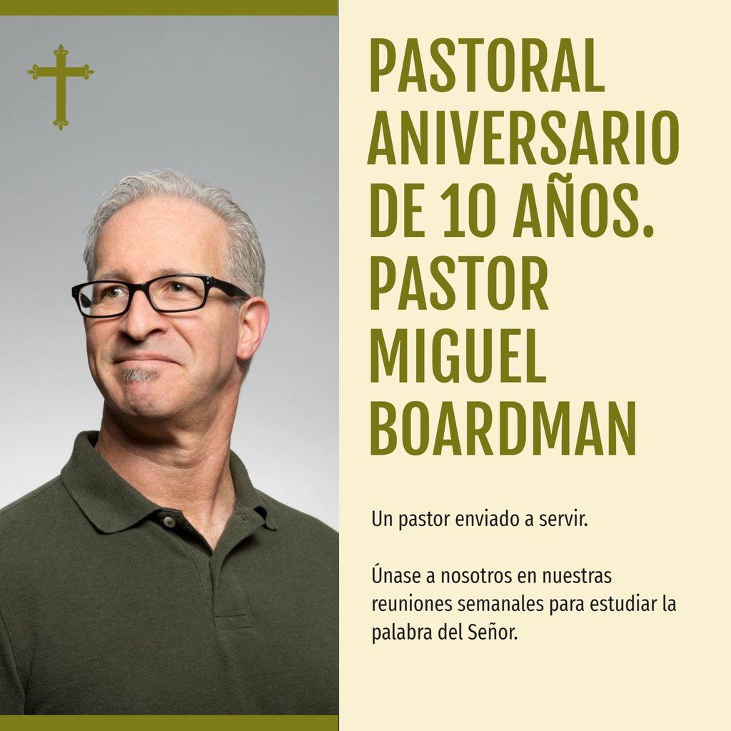 aniversario pastoral plantilla