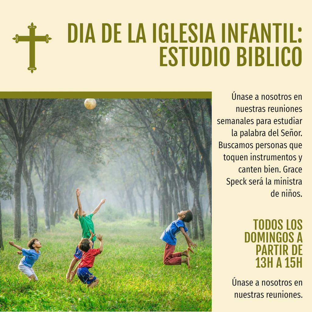 dia estudio biblia niños
