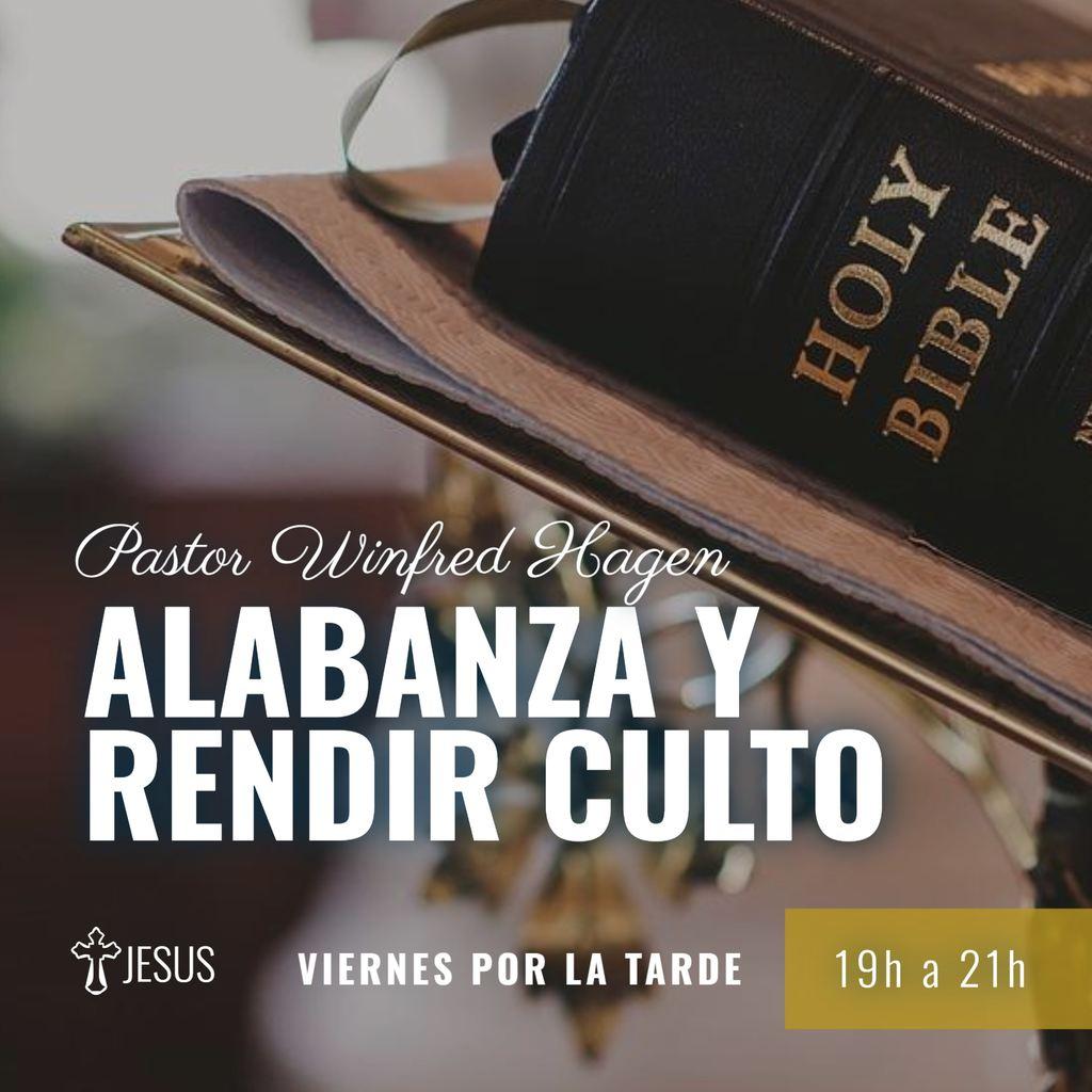 pastor culto y alabanzas