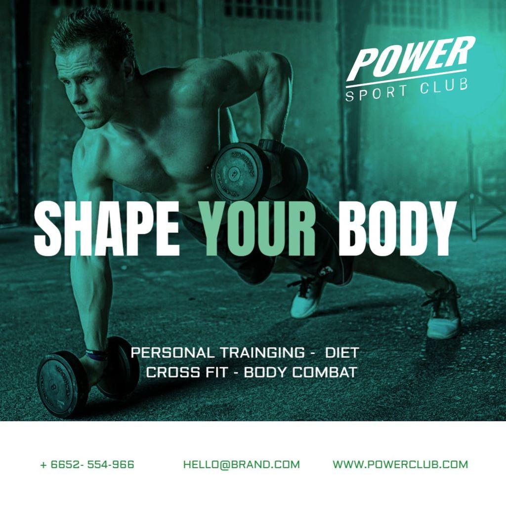gym banner promo