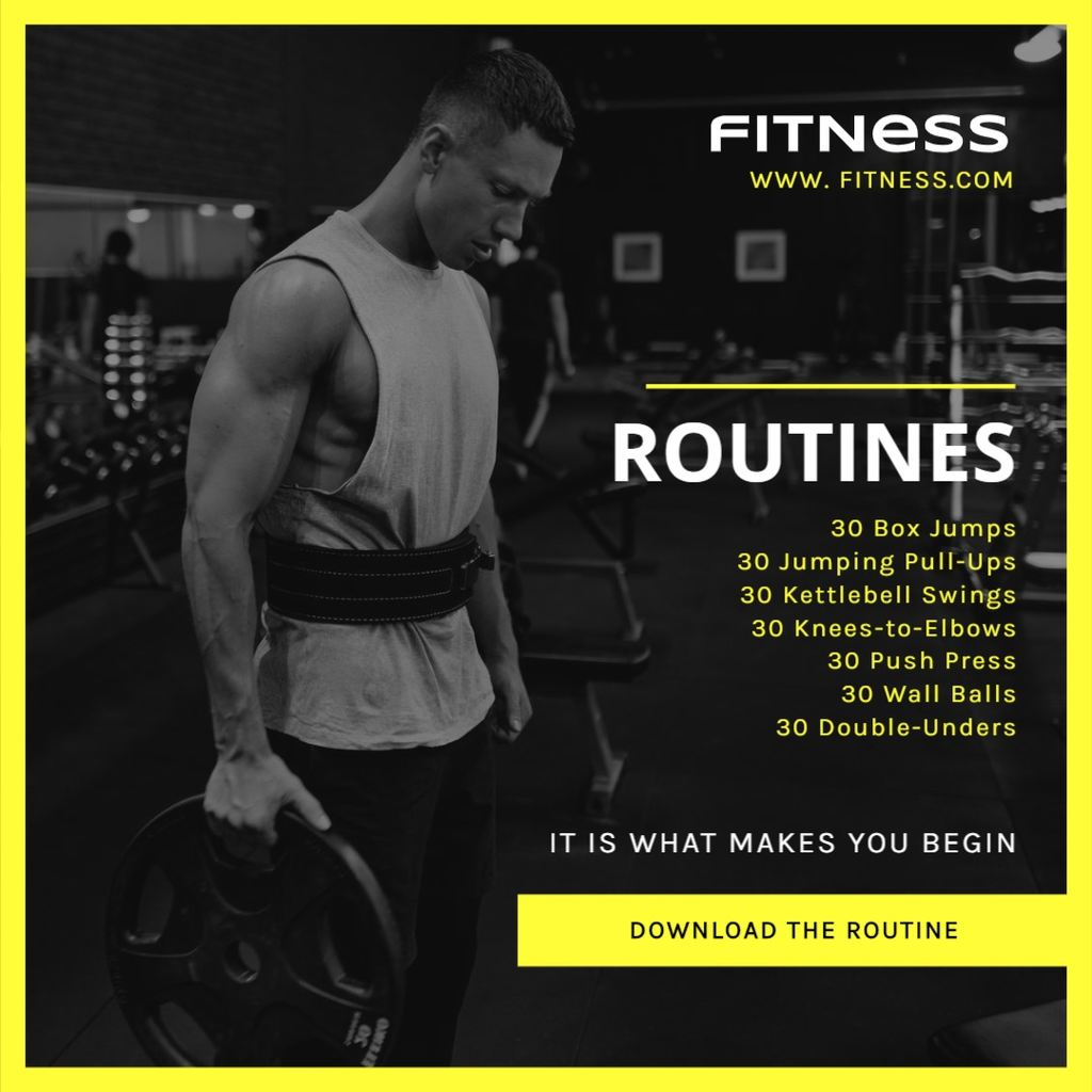 gym routines banner