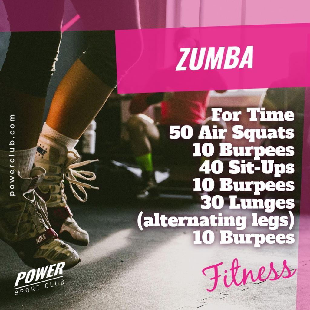 zumba class workout