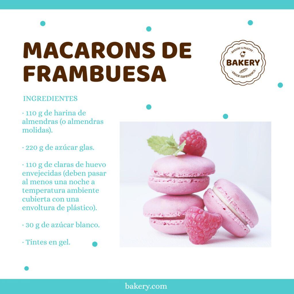 macarons de fresa banner