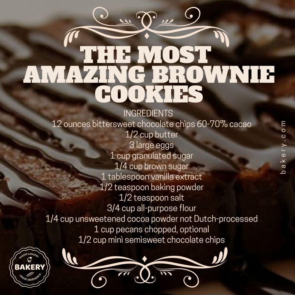receta galletas brownie