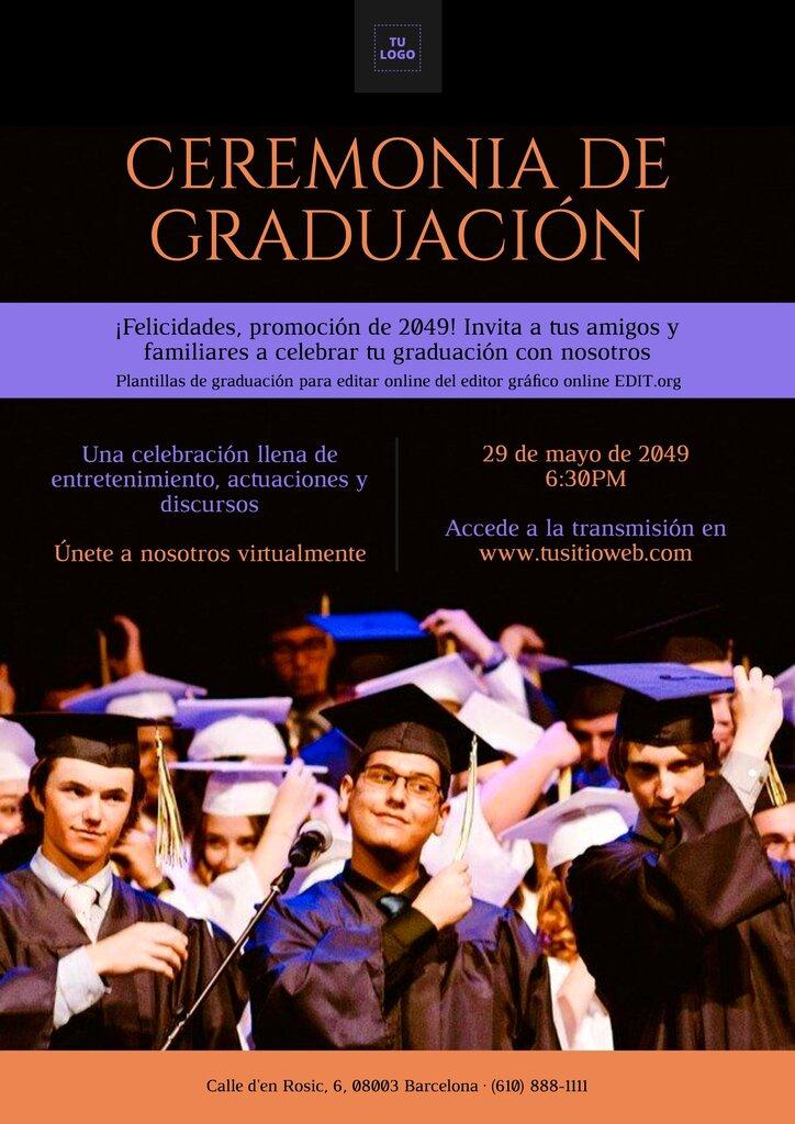 Banners para graduación imprimibles