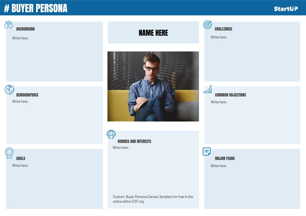 Buyer Persona template to edit online for free