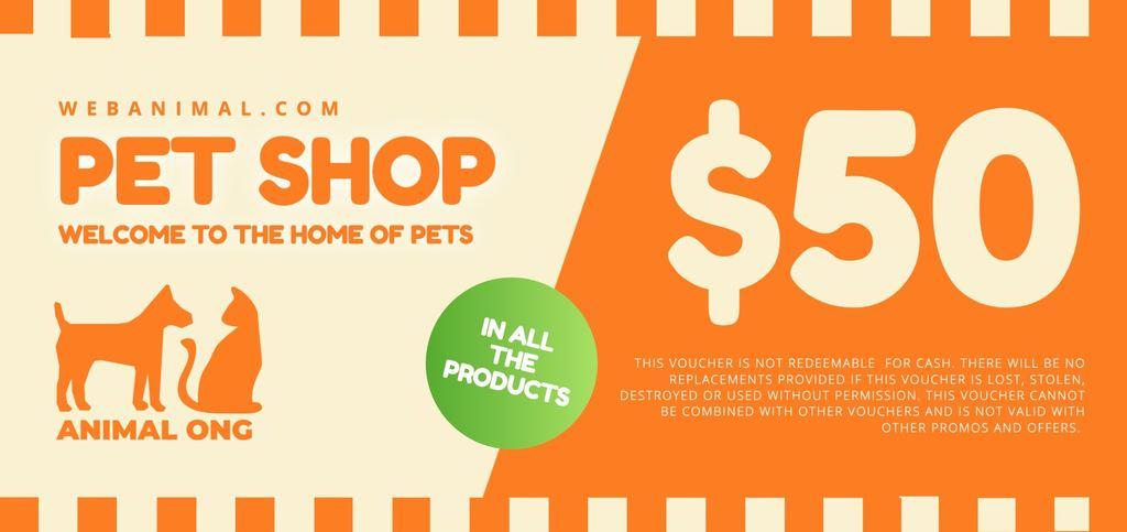 Voucher to edit pet store