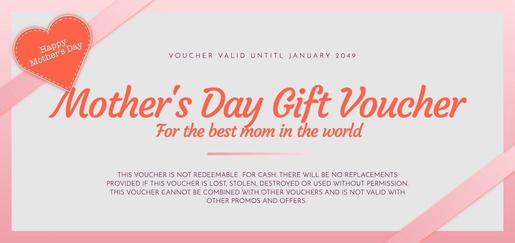 mother's day voucher template