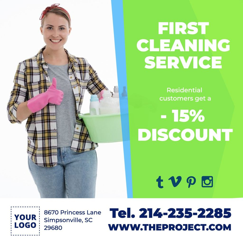 Template help. How start your cleaning and disinfection service