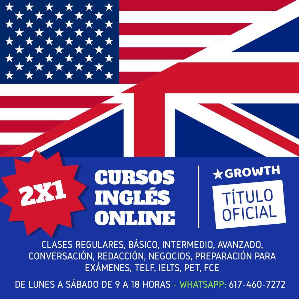 plantilla curso inglés online