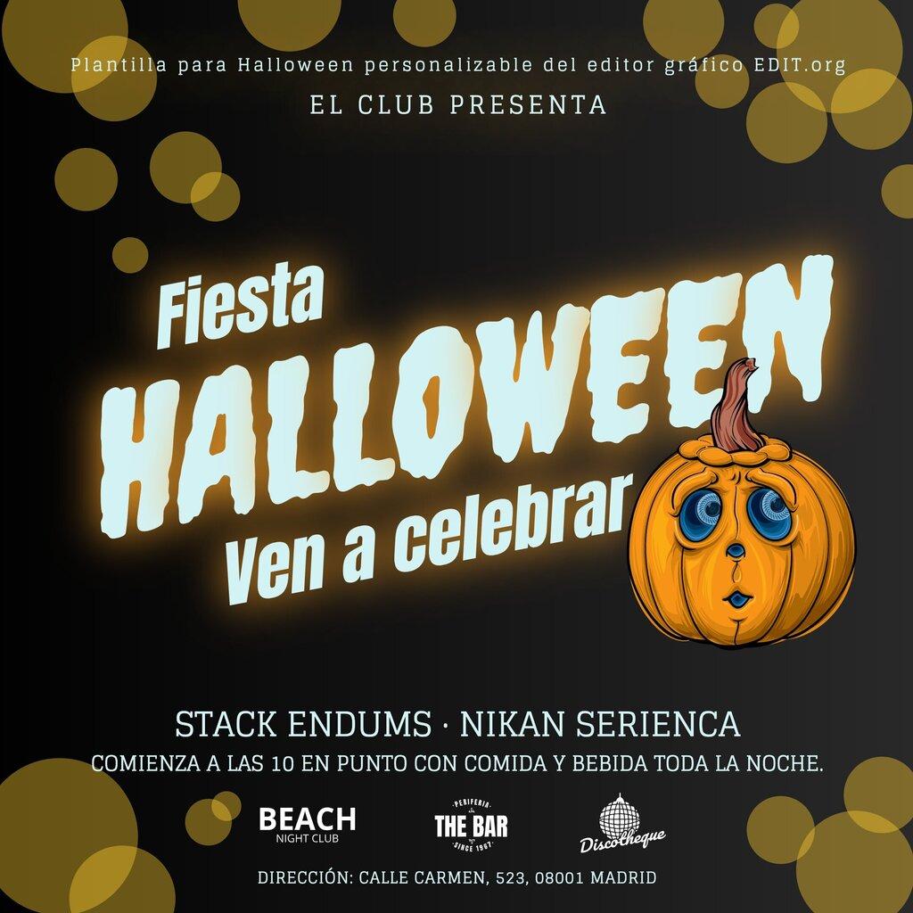 Plantillas para Halloween imprimibles gratis