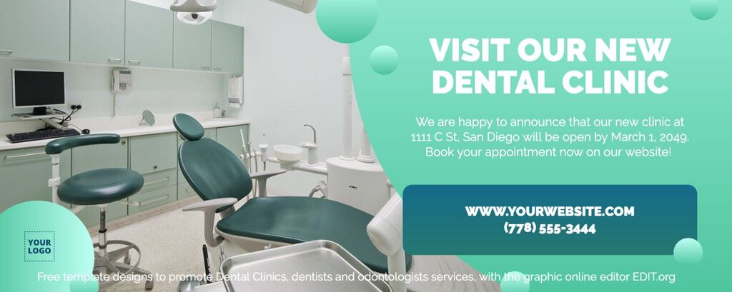 Dental Clinic presentation template to edit online