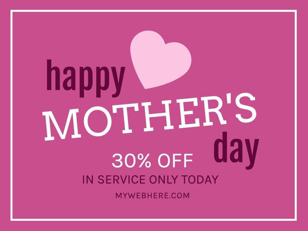 Happy Mother's Day templates
