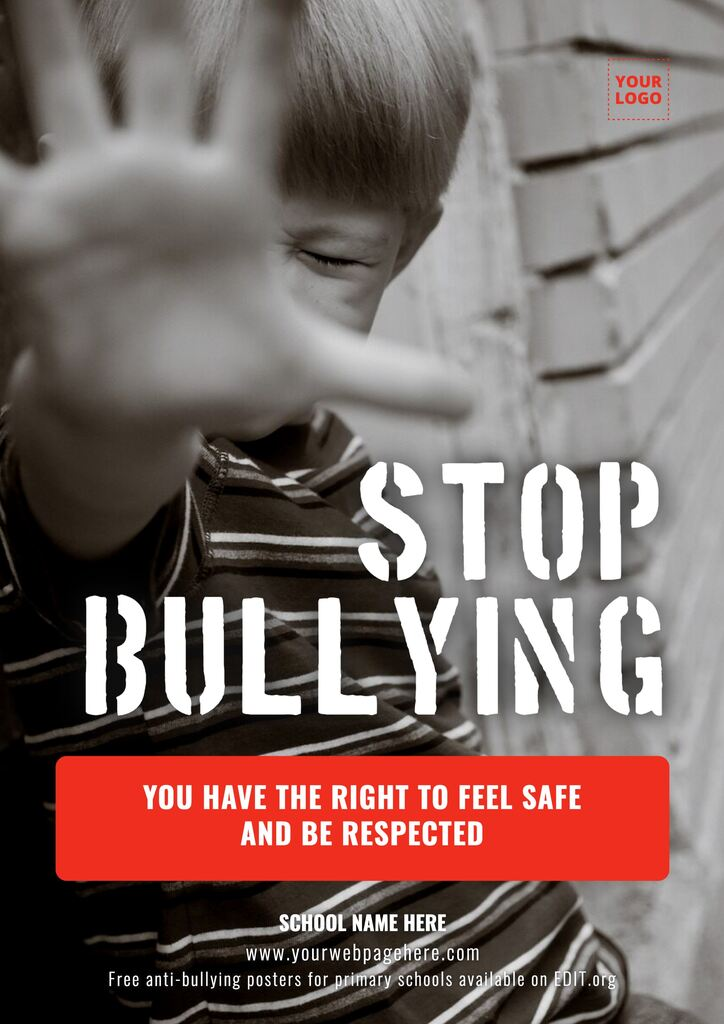 Free antibullying posters for middle schools