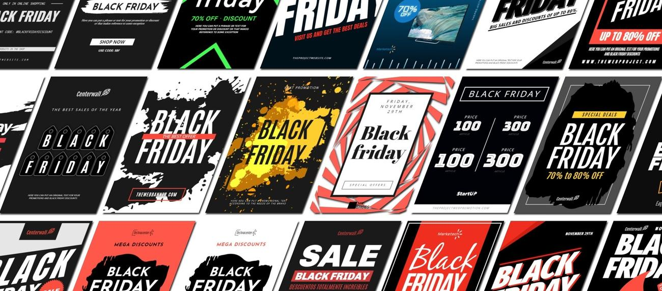 Create Your Banners For Black Friday