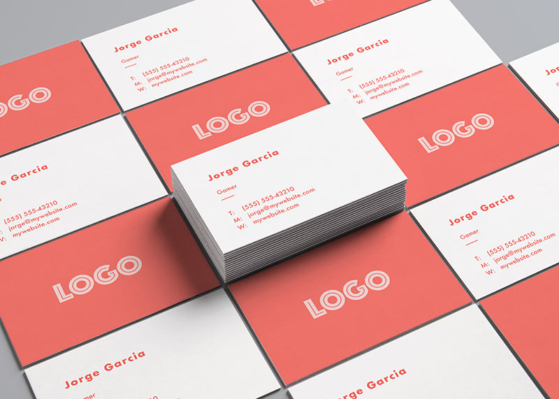 Design business cards online editor