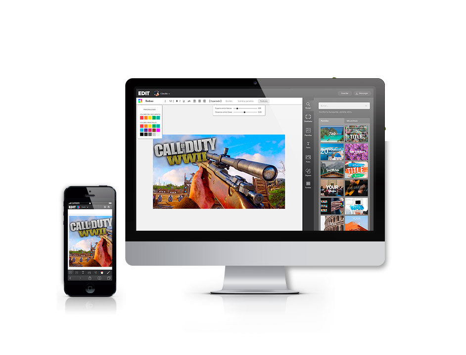 Designs on any device, we are responsive.