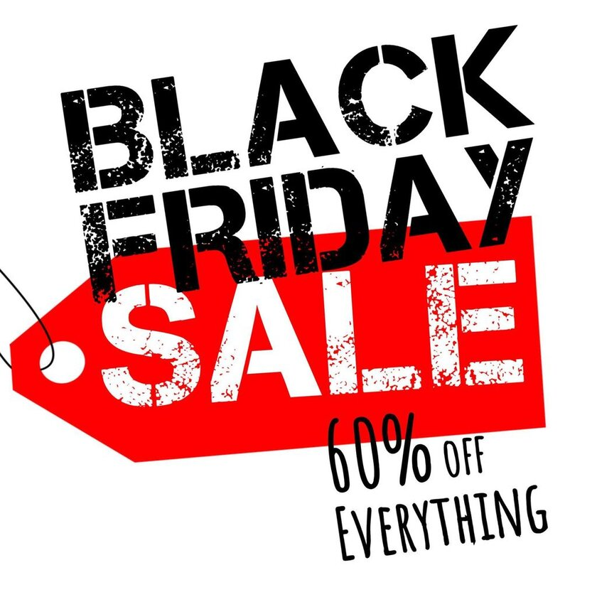 black friday banner poster to print