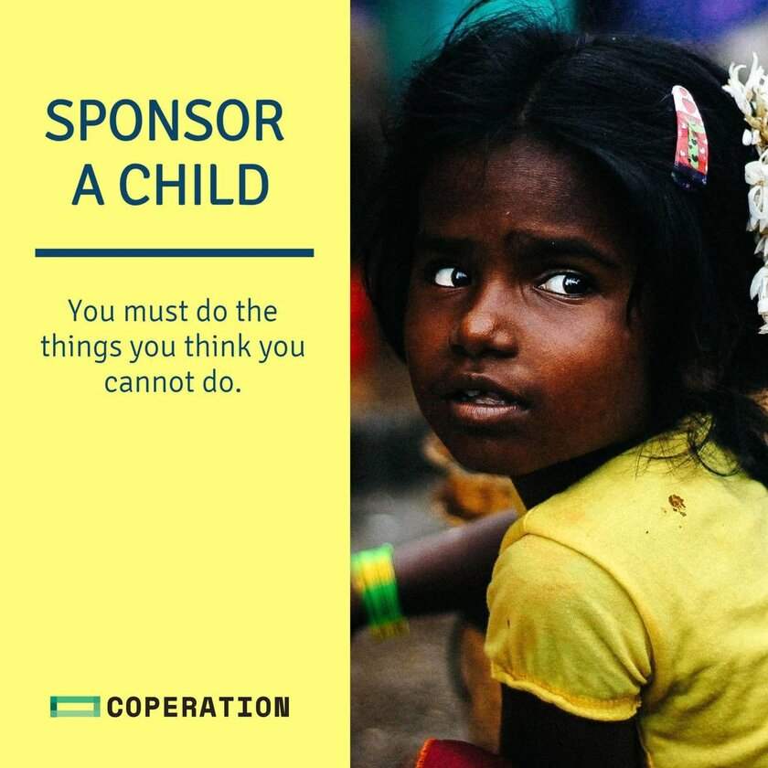 ngo sponsor a child template