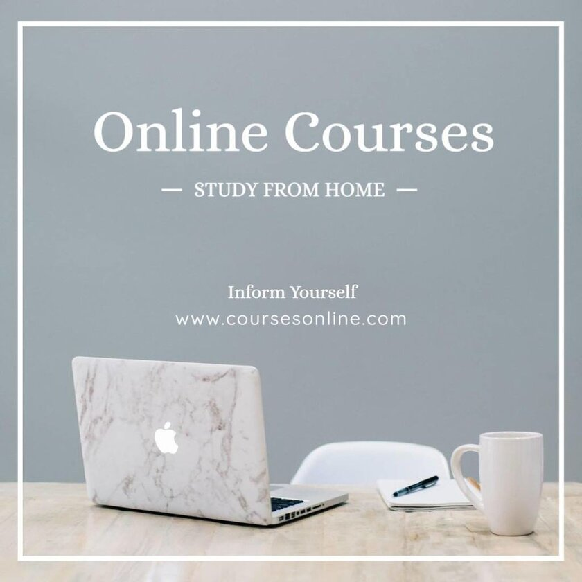 online course template