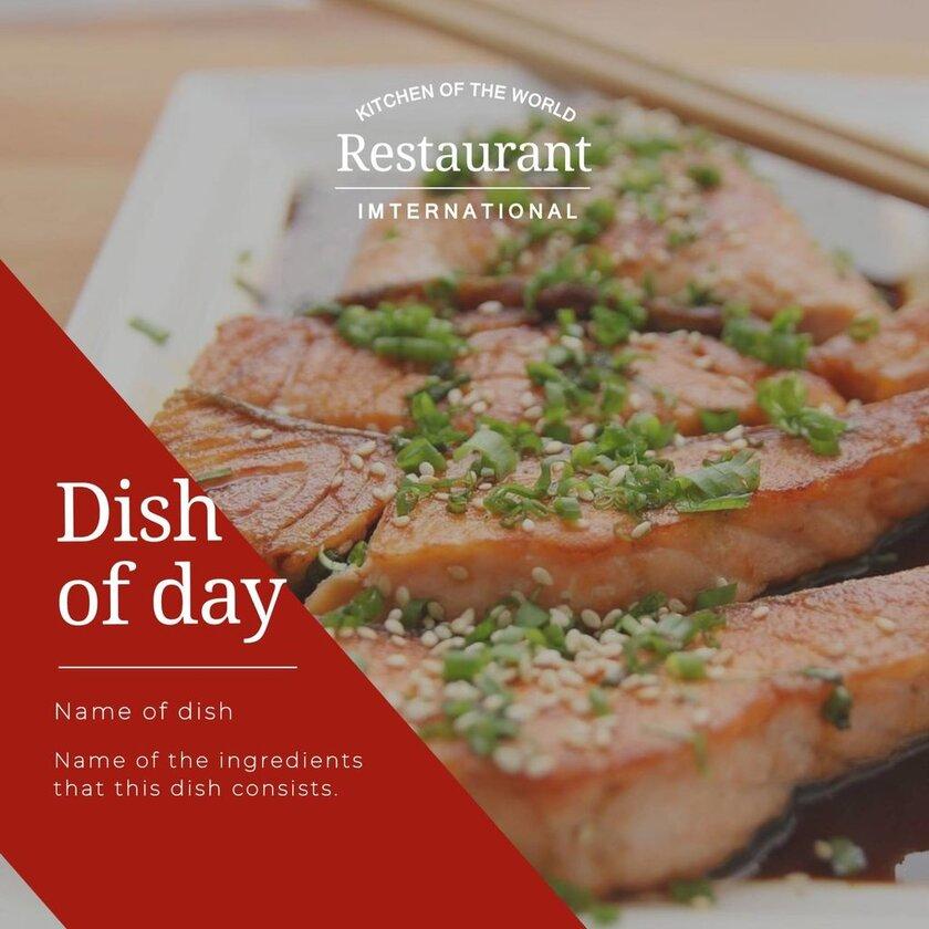 daily special international restaurant