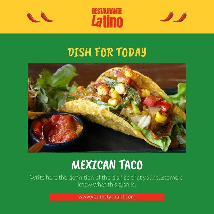 daily special latin restaurant