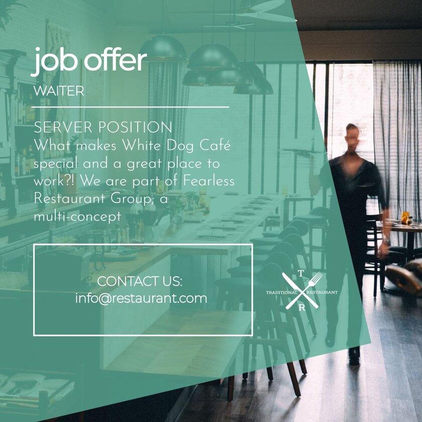 job offer editable template
