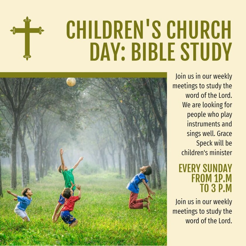 childrens study bible template