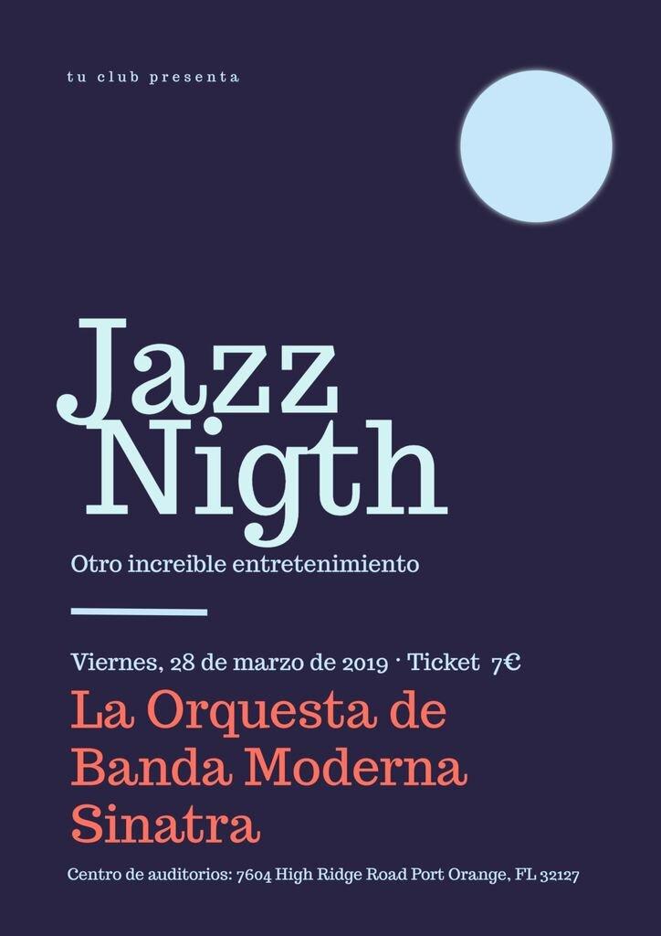 noche de jazz cartel